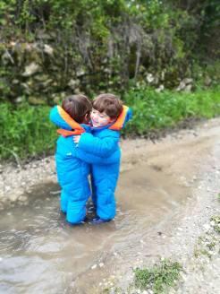 Abraçar :)